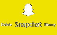 How to Delete Snapchat History  #snapchat #history #howto #yogeshkhetani
