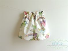 Size 4 My Little Pony PaperBag Shorts