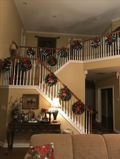 Christmas 2017, Stairs, Home Decor, Ladders, Homemade Home Decor, Stairway, Staircases, Decoration Home, Stairways