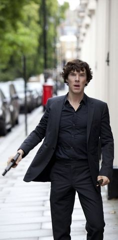 6.Sherlock Holmes from BBC's Sherlock  Title: The World's Only Consultant Detective