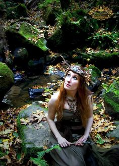Enchanted Wood Fairy Faerie Antler Crown Magic by SpinningCastle