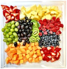 Fruit Platter - StinkyBklyn A fresh mix of fruits, hand cut and excellent for brightening up any party or catering situation! The perfect way to fill out the table, especially combined with one of our cheese and meat platters. Fruits Basket Cosplay, Fruits Basket Kyo, Fruit List, Eat Fruit, Kids Fruit, Fruits And Vegetables Images, Vegetables List, Fruits Images, Fruits With Low Sugar