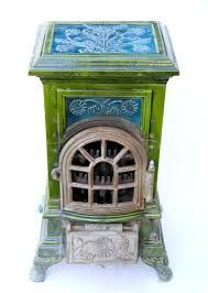 Image result for antique french ceramic woodburners