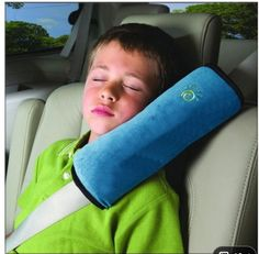 Car pillow. DIY with covered pool noodle