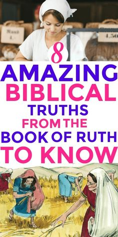 The AMAZING Book Of Ruth: Aside from being one of the top Bible studies for women, the book of Ruth has a lot of life-changing teachings and lessons for women today. Here are the 10 top truths from the book of Ruth you must know right away. Ruth Bible, Book Of Ruth, Religion, Christian Life, Christian Women, Christian Living, Christian Quotes, Bible College, Bible Study Journal