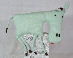 wystrój rękodzieło ozdoby handmade  falbana.pl zwierzak maskotka przytulanka  mułek osiołek