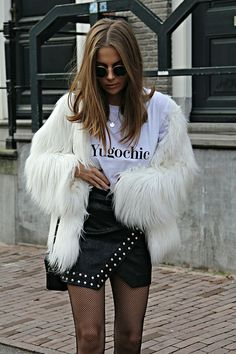 Favorite winter looks Fur Fashion, Winter Fashion, Fashion Outfits, Womens Fashion, Fall Outfits, Casual Outfits, Cute Outfits, Fashionable Outfits, Winter Looks