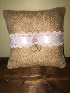 Ring Bearer Pillow | Ruffled