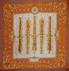 Hermès - Le Canon du soleil Royal, signé P.Peron