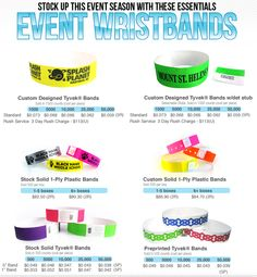 Wristbands for all causes !! Great way to spread the message.