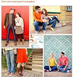photo fashion, engag session, photo ideafamili, engagements, engagement what to wear, photographi