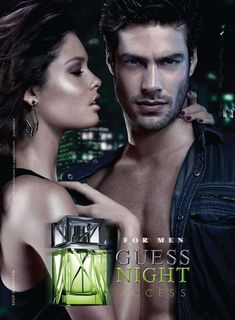 Guess Night Access fragrance ad
