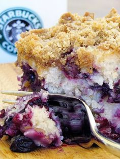 Delicious and Beautiful Blueberry Cake ~ Tally Recipes