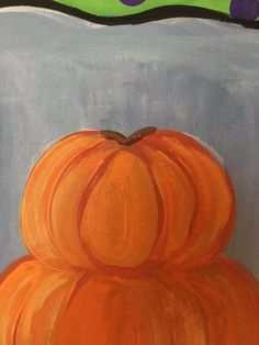 Easy canvas painting for beginners step by step. Learn how to paint a pumpkin topiary painting on canvas! Paint this and more fall canvas paintings! Pumpkin Topiary, A Pumpkin, Pumpkin Canvas Painting, Step By Step Painting, Learn To Paint, Fall Halloween, Halloween Decorations, Healthy Meals, Art