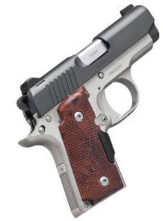 Kimber Micro Carry Rosewood Two-Tone ACP Guns > Pistols > Kimber of America Pistols Kimber 9mm, Kimber Micro, Home Defense, Self Defense, Kimber America, 380 Acp, Pocket Pistol, Night Sights, Lux Cars