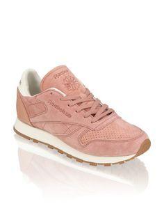 online store a8d9c 7acf3 Reebok CL Lthr Bread   Butter   pink   humanic.net