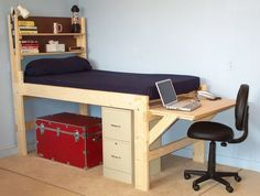 Loft Bed & Bunk Beds On-Line Order Form for youth, teen & college students