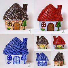Malovaná keramická kasička / ARTiS - SAShE.sk - Handmade Dekorácie