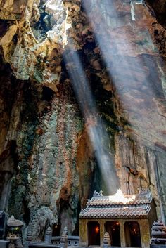The Marble Mountains Vietnam are located near Hoi An. The beautiful mountains are a great day trip to visit from Hoi An Vietnam.