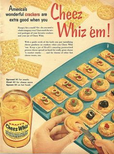 1950s Vintage recipes, images and ideas to make the food at your party a highlight of the evening.