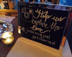 fabulous vancouver wedding #jadeandjoelgetmarried #handwritten #calligraphy #moderncalligraphy #chalkart by @weiwithink  #vancouverwedding #vancouverweddingstationery #vancouverwedding