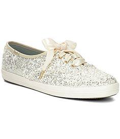 kate spade new york Glitter Keds Sneakers #Dillards