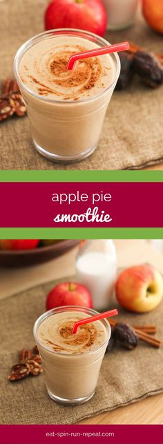 Apple pie in smoothie form? Yes please! This high-protein, vegan-friendly Apple Pie Smoothie tastes just like the traditional favourite dessert your grandma used to make, yet it's healthy enough to drink for breakfast. Enjoy!