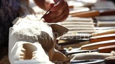 Video about Craftsman carving wood - ancient dacian flag. Carving Wood, Craftsman, Royalty Free Stock Photos, Flag, Abstract, Artist, Wood Sculpture, Artisan, Summary