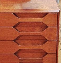 vintage integrated handles