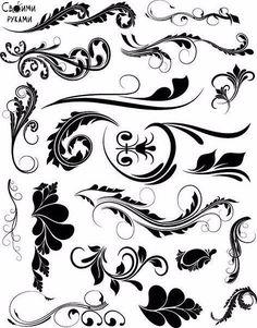 Трафареты для росписи и декорирования