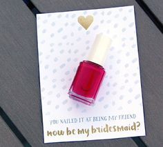 Make your bridemaids feel extra special by asking them in a memorable way with these creative printable ideas.