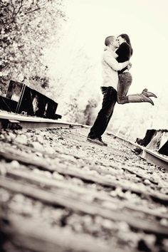 epic on train tracks  <3 dayna mae photography