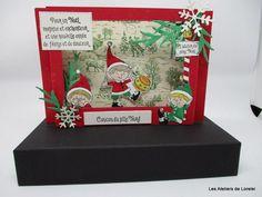 "card ""My Little Elves"" 3d Cards, Folded Cards, Stampin Up Cards, Christmas Cards, 3d Christmas, Stampin Up Christmas, Christmas Catalogs, Scrapbook, Stamping Up"