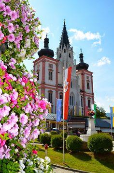 Church in Mariazell, Austria