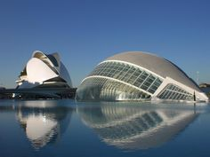 Valencia's most recognised landmark. Built by Valencia's  ownarchitect,Santiago Calatrava.