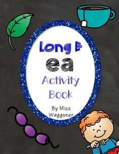 No Prep Long E Vowel Team EE Hands on Cut and Paste and Other Activities Vowel Activities, Team Activities, Interactive Activities, Ee Words, Short Vowels, Cut And Paste, Phonics, Booklet, Kindergarten