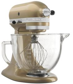 KitchenAid unveiled a champagne gold colored stand mixer at the Housewares Show.