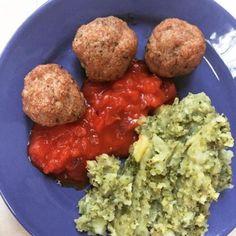cuisinedemememoniq:boulettes de veau au basilic sauce tomate et...