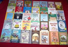 34 An I Can Read Vintage Hardcover Books~Homeschool Beginning Readers~Age 5-9