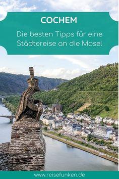 Cochem | Deutschland: Mit diesen Tipps kannst du deinen Ausflug oder Wochenendtrip in das kleine Städtchen Cochem an der ganz entspannt genießen. Ich zeige dir die wichtigsten Sehenswürdigkeiten, wie die Reichsburg Cochem, historische Altstadt, das Kapuzinerkloster und das Pinnerkreuz. Außerdem findest du Tipps für deine Mosel-Schifffahrt und einen Besuch in Beilstein. Die Moselregion in Rheinland-Pfalz bietet für die ganze Familie Erlebnisse und bietet sich auch zu