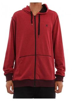 Hurley retrear zip fleece