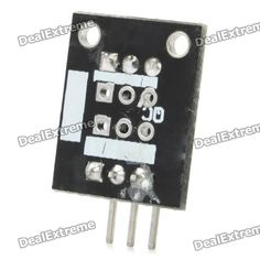 Keyes DS18B20 Digital Temperature Sensor Module for Arduino(-55~125C). Brand Keyes Quantity 1 Color Black Material PCB Features Detect ambient air temperature Application Arduino DIY project Other Measures temperatures from -55??C to +125'C with +/- 0.5'C accuracy Packing List 1 x Temperature sensor module. Tags: #Electrical #Tools #Arduino #SCM #Supplies #Sensors
