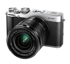 <3 iWant this Fujifilm X-M1 camera!