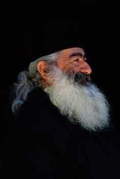 Old Men with Beards Faces | Portrait Faces of an old man with beard | © Patrick de WILDE