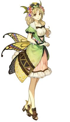 View an image titled 'Ayesha Altugle Art' in our Atelier Shallie Plus: Alchemists of the Dusk Sea art gallery featuring official character designs, concept art, and promo pictures. Character Design Cartoon, Character Design References, Fantasy Character Design, Character Design Inspiration, Character Concept, Character Art, Concept Art, Manga Girl, Anime Art Girl