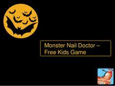 Monster Nail Doctor Free Kids Game