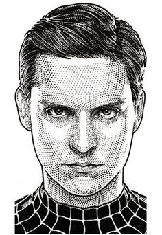 Tobey Maguire by Randy Glass