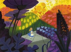 George Nelson   VINTAGE DISNEY SERIES 1950 's   Mary   Blair  .                Was born in 1911, Oklahoma. She attended San Jose State Col...
