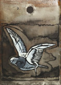 Fly and dream - 2014 - steel, oilpaint - 250*350