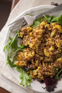 Curried Cauliflower and Quinoa Salad